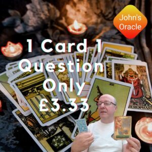 Tarot by Email - 1 Card 1 Question