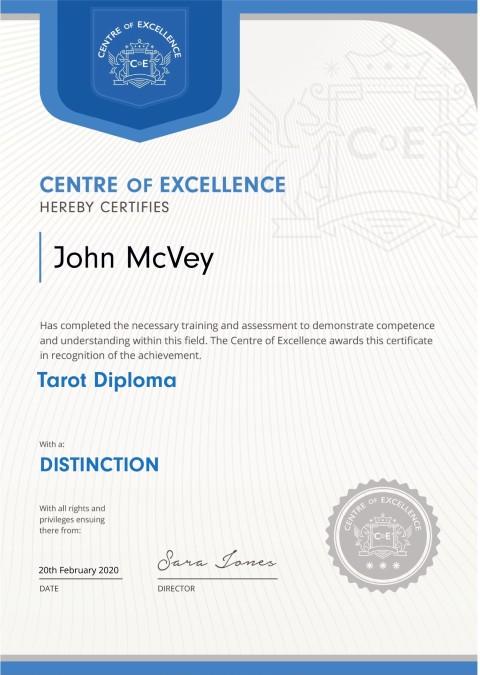 Tarot-Diploma
